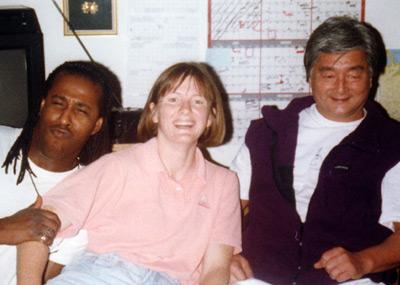Yoshimitsu Yamada Shihan, Donovan Waite Shihan, and Seabolt Sensei