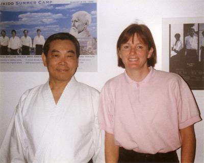 Mitsunari Kanai Shihan and Seabolt Sensei