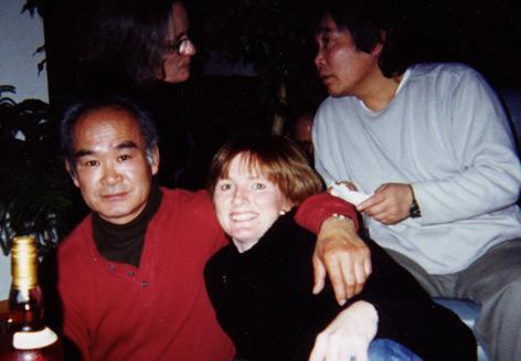 T.K. Chiba Shihan, Mitsunari Kanai Shihan, and Seabolt Sensei