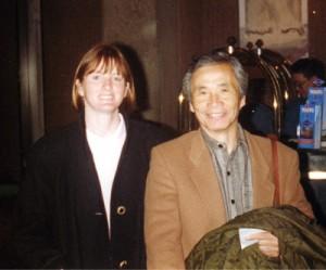 Nobuyoshi Tamura Shihan and Seabolt Sensei