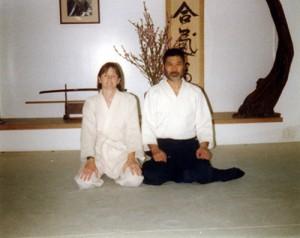 Seiichi Sugano Shihan and Seabolt Sensei