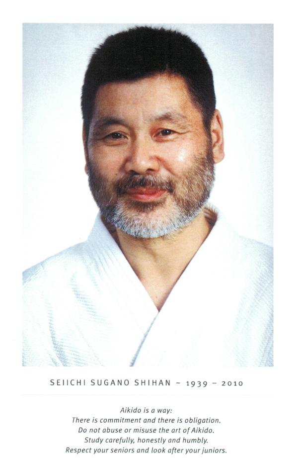Seiichi Sugano Shihan