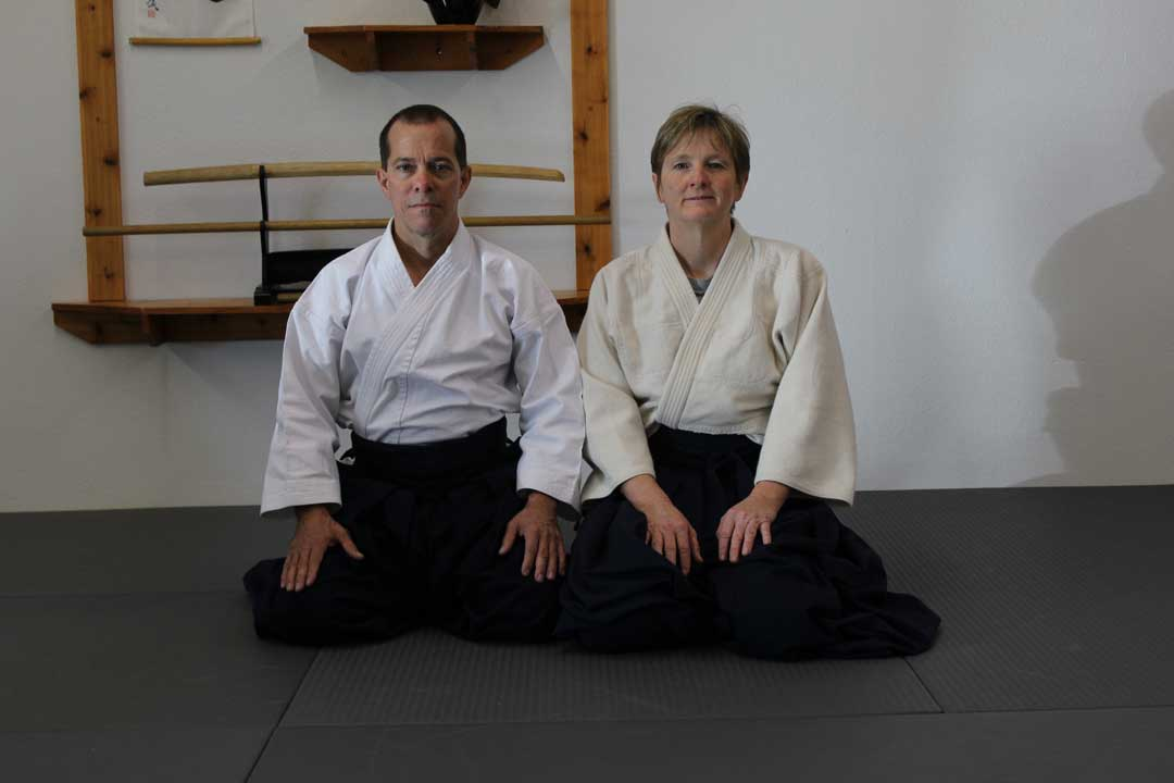 Brevard Aikikai - Dee and Grady