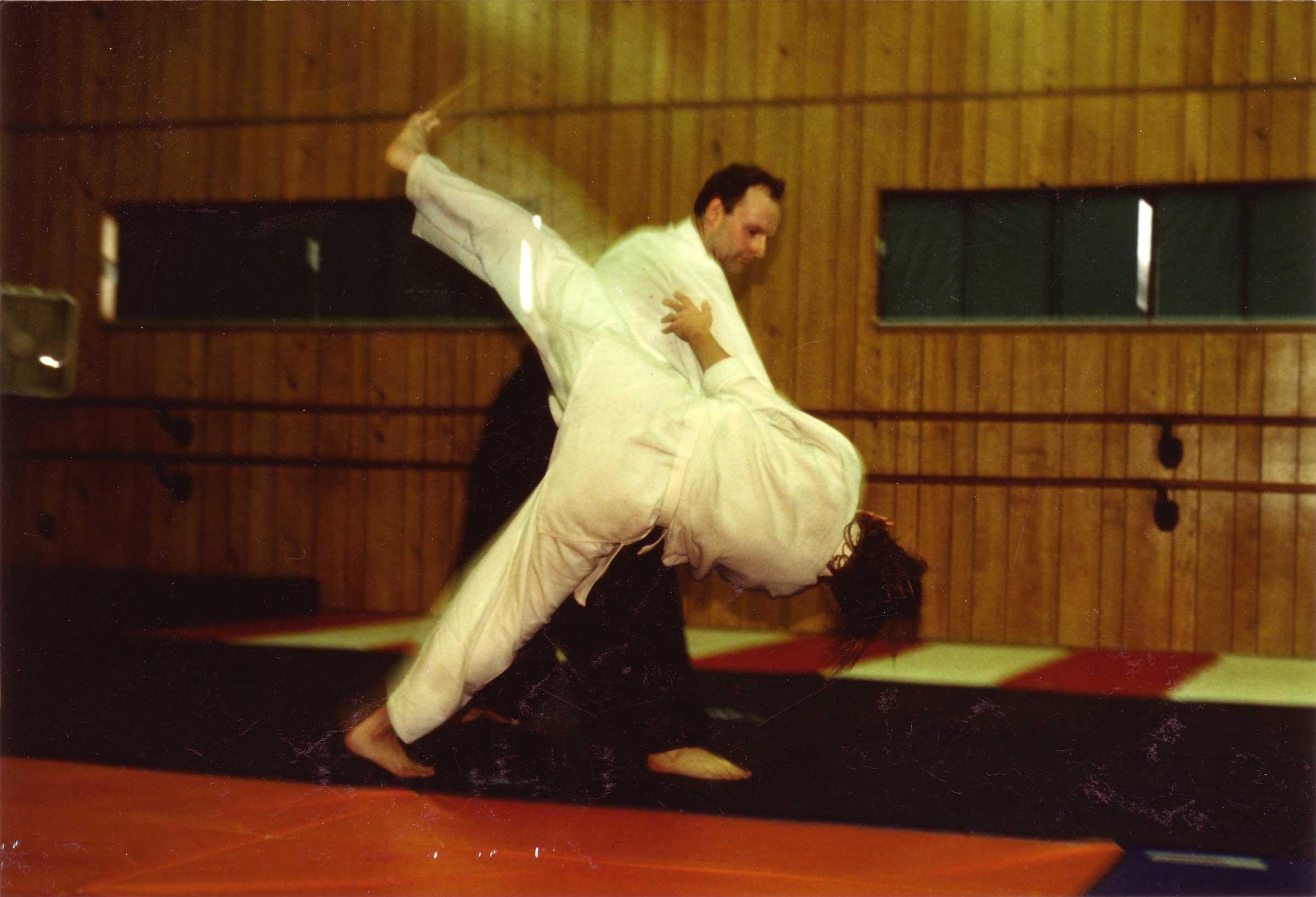 Chris Rozett and Dee Seabolt, circa 1996