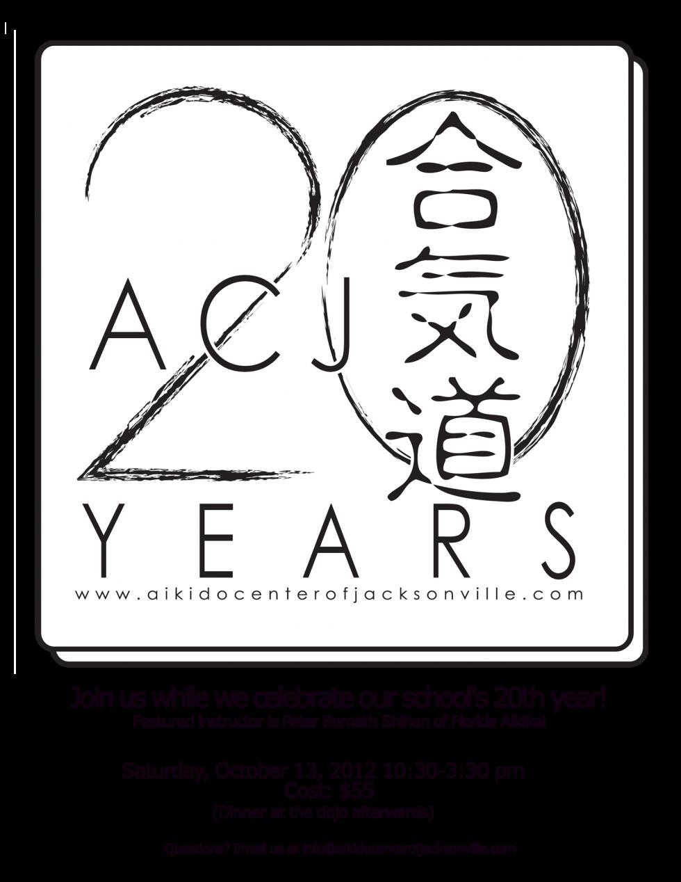 Twentieth Anniversary Seminar