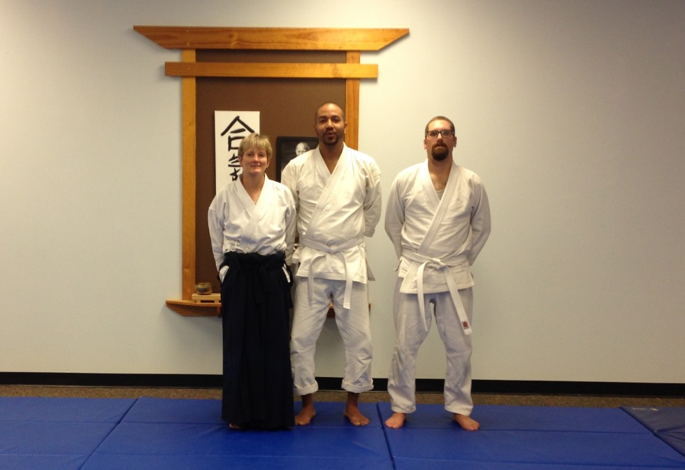 Dee, Ashton, and Jeff