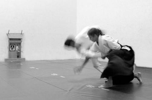 Tonya executing kokyu-nage